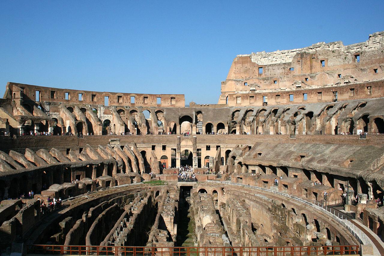 colisée interieur rome