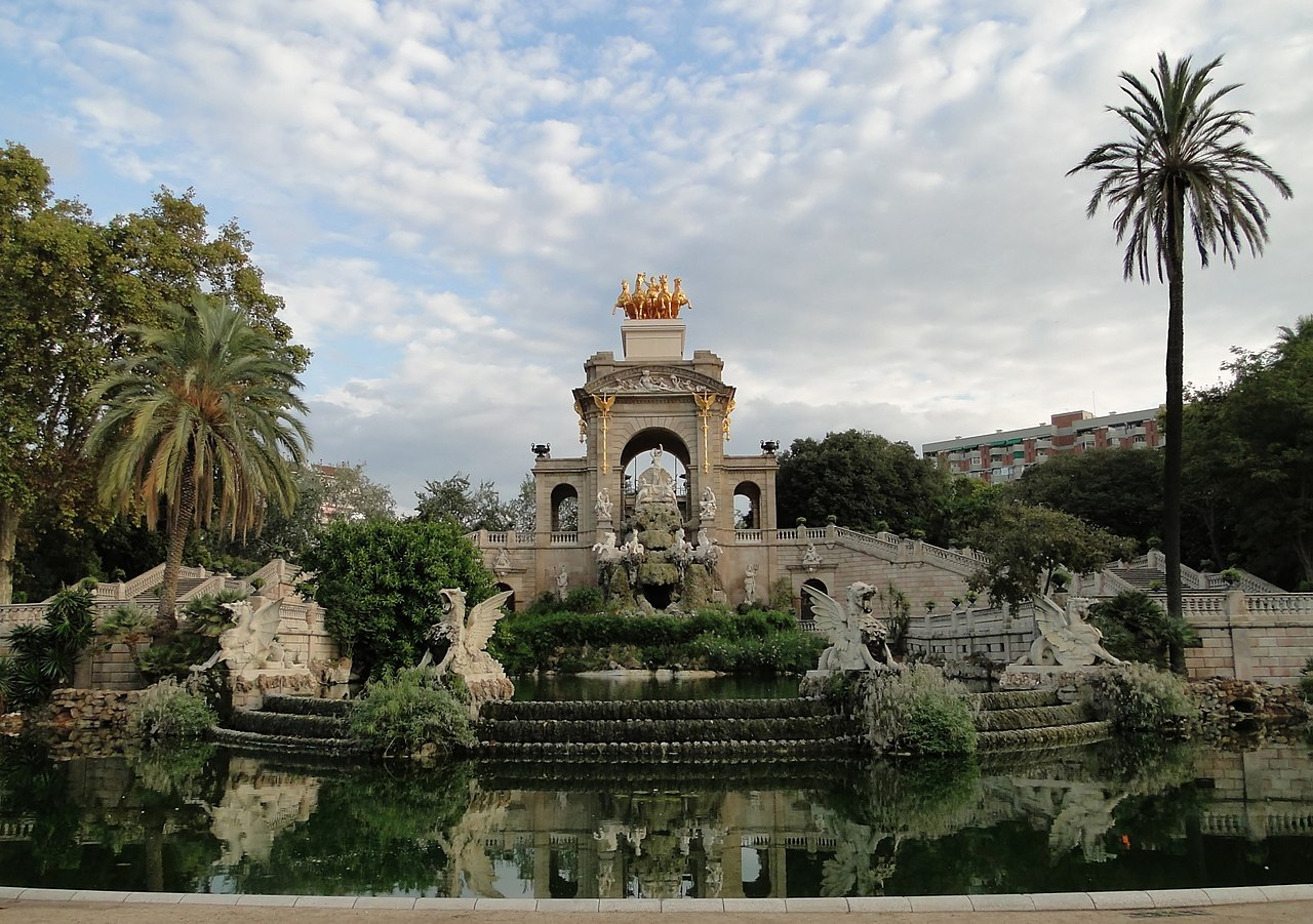 parc cuitadella barcelone
