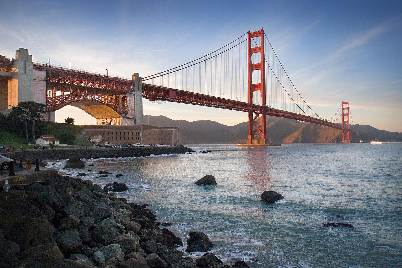 Les Etats Unis golden gate bridge californie