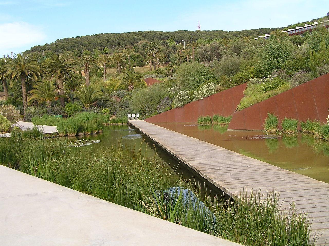 jardin botanique de barcelone