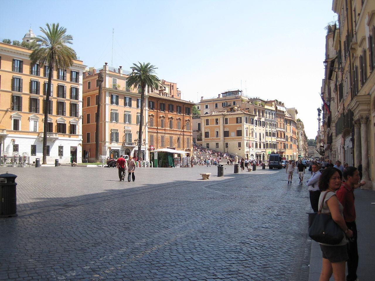 piazza spagna rome