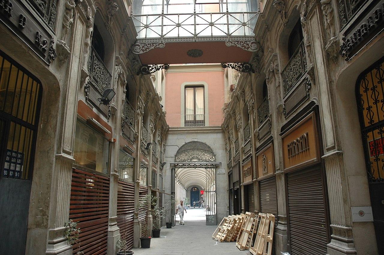 passage bacardi barcelone