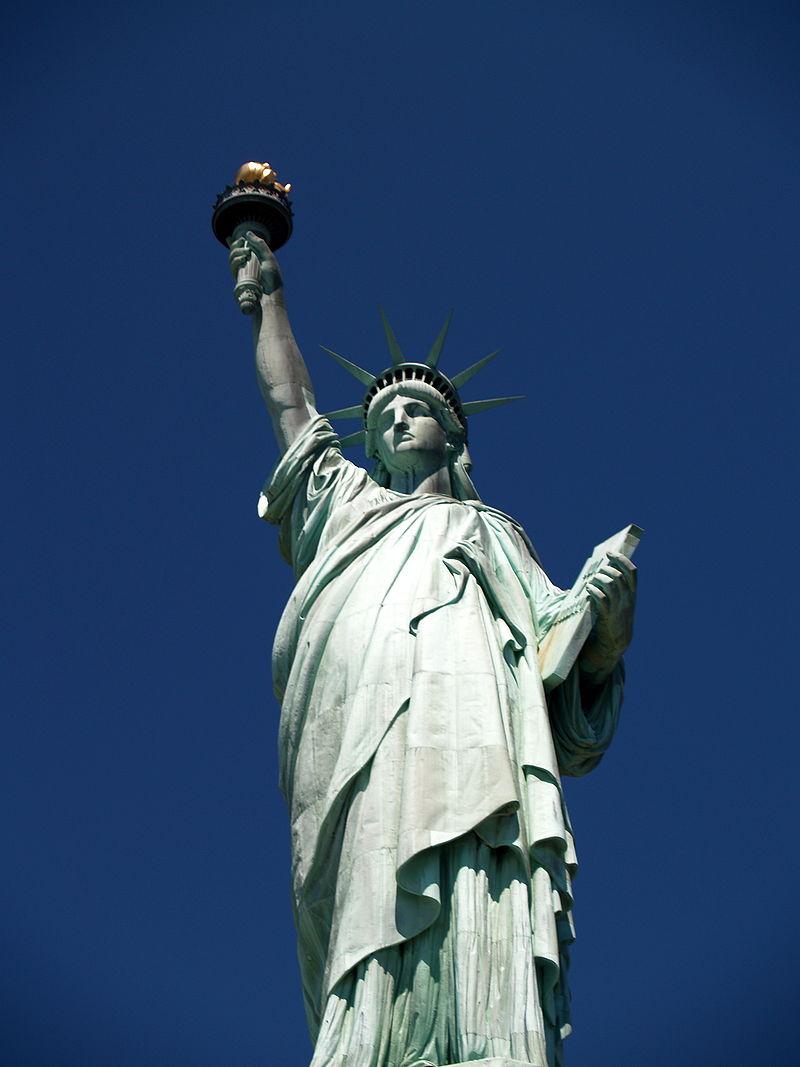 Les Etats Unis statue de la liberté