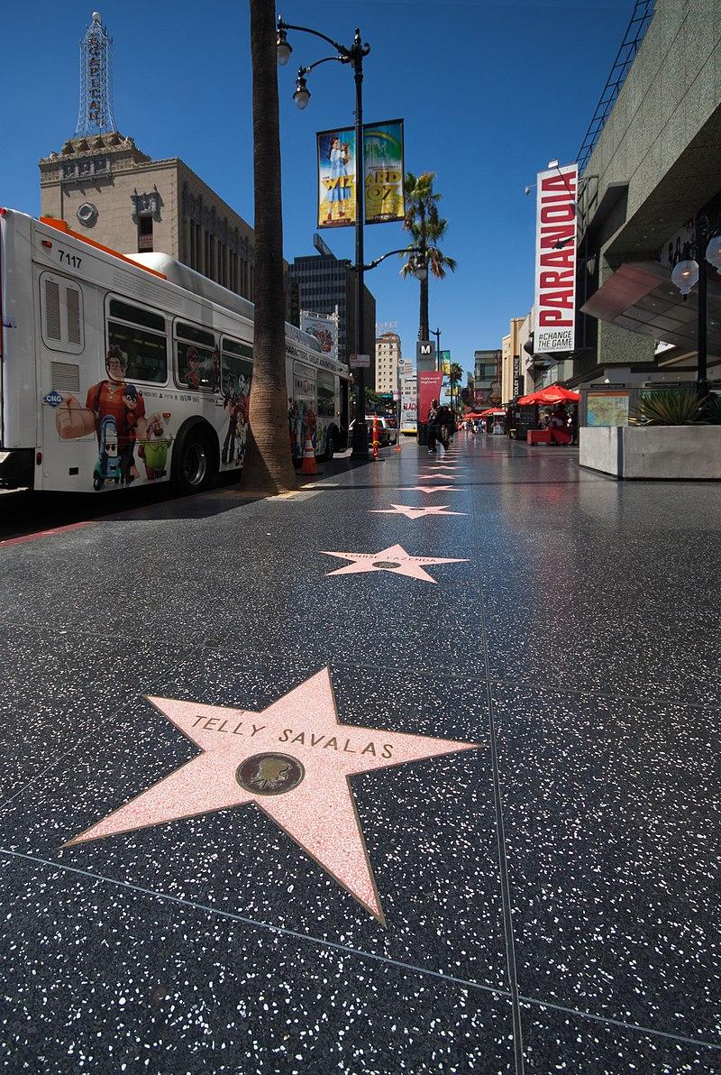 Les Etats Unis Le Walk of Fame