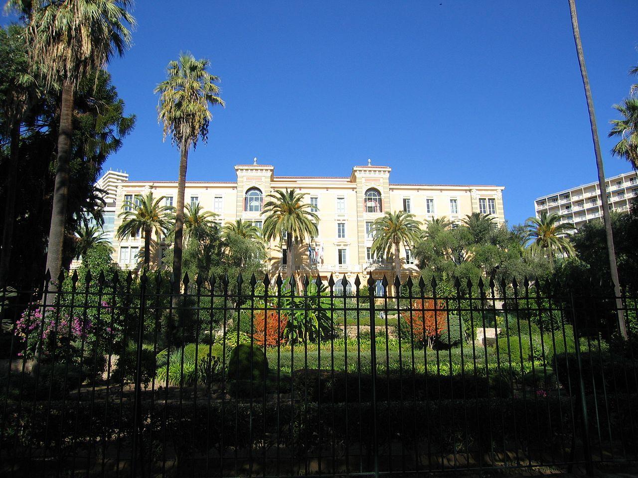 ancien grand hotel continentale ajaccio