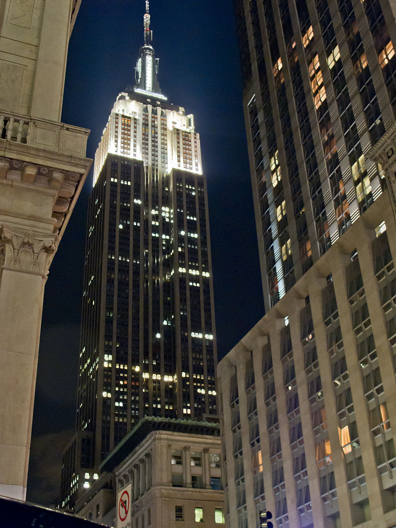 Les Etats Unis new york empire state building