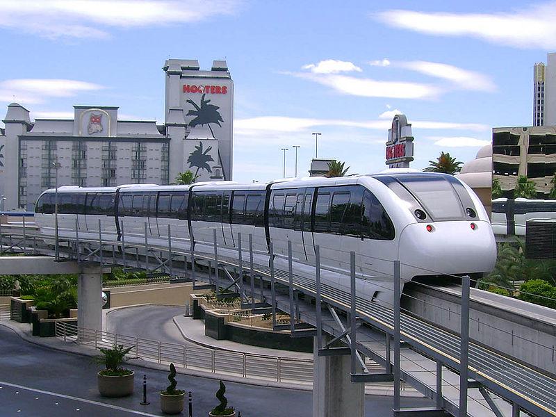 Se déplacer à Las Vegas en monorail