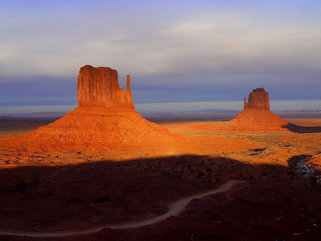 Les Etats Unis monument valley Arizona / Utah