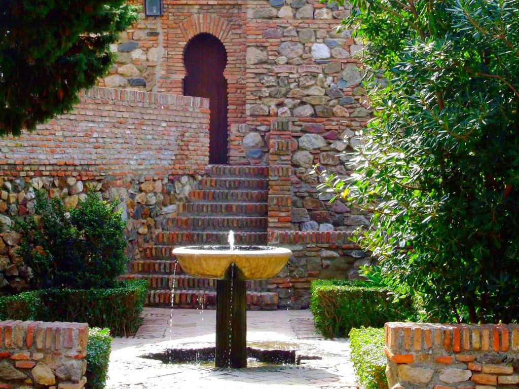 patio alcazaba