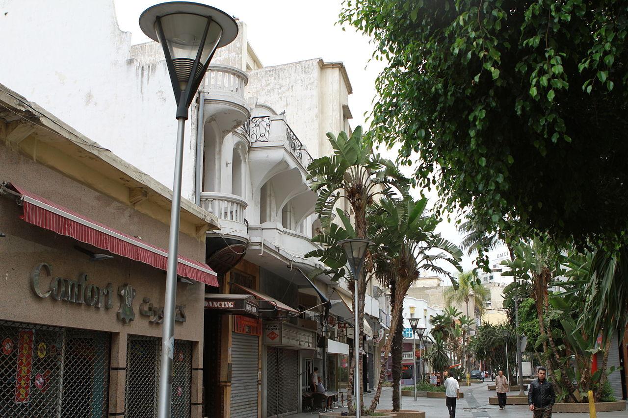 rue pietonne casa