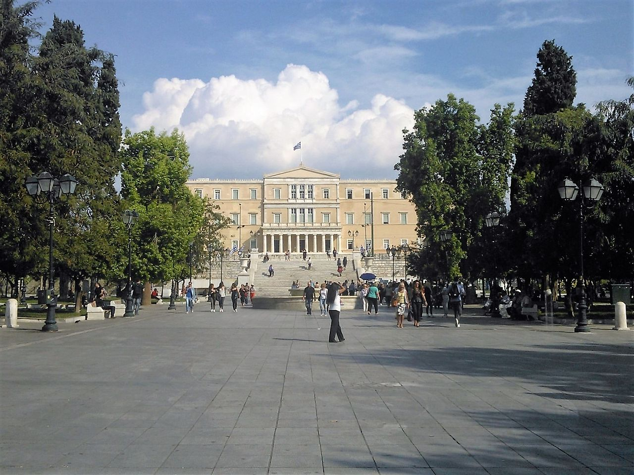 Place Syntagma athènes