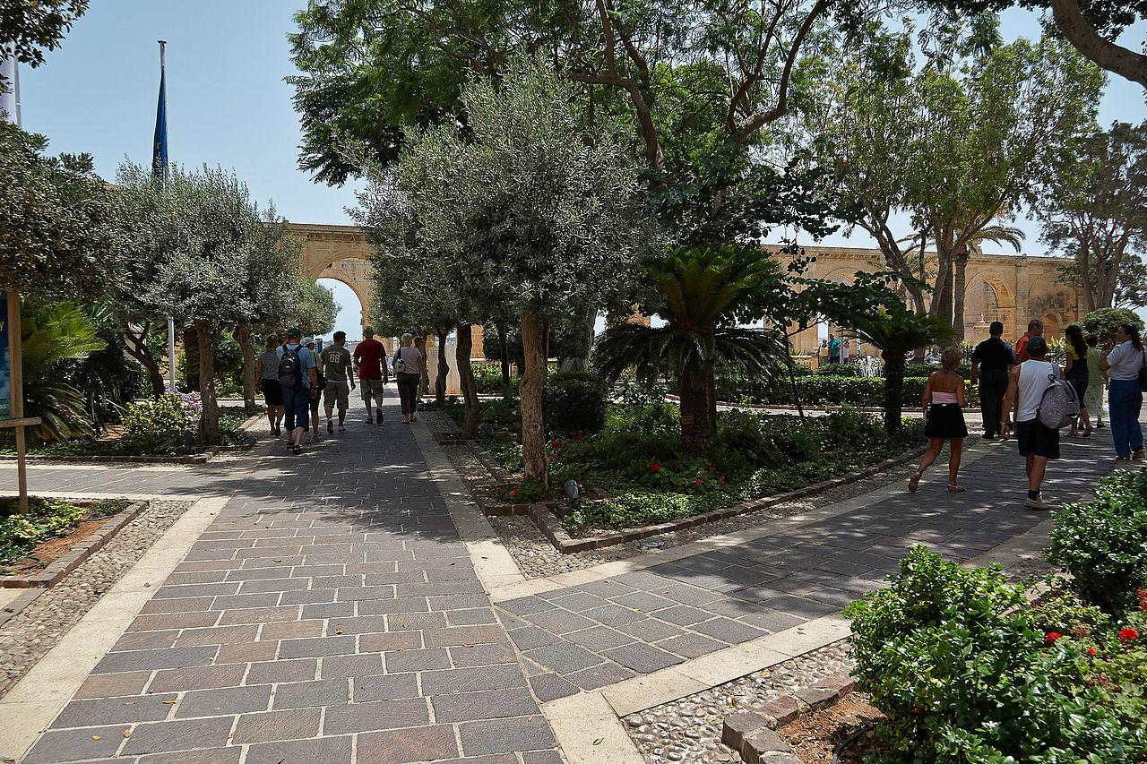 jardin de barrakka superieir malte