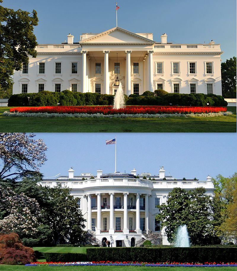 Les Etats Unis MAISON BLANCHE WASHINGTON