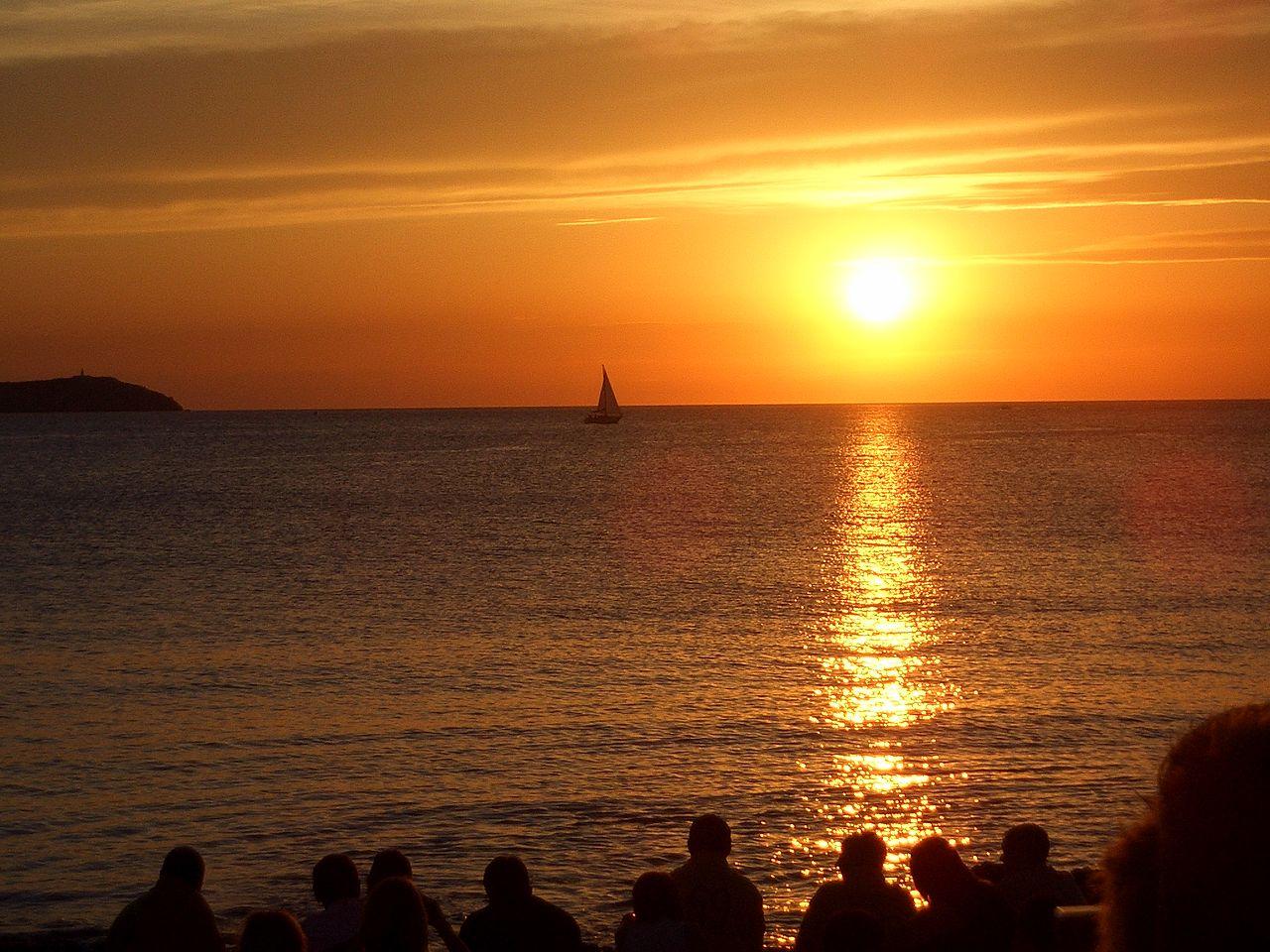 couche de soleil ibiza