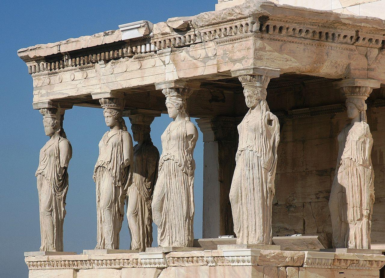 l'éréchtheion athenes acropole