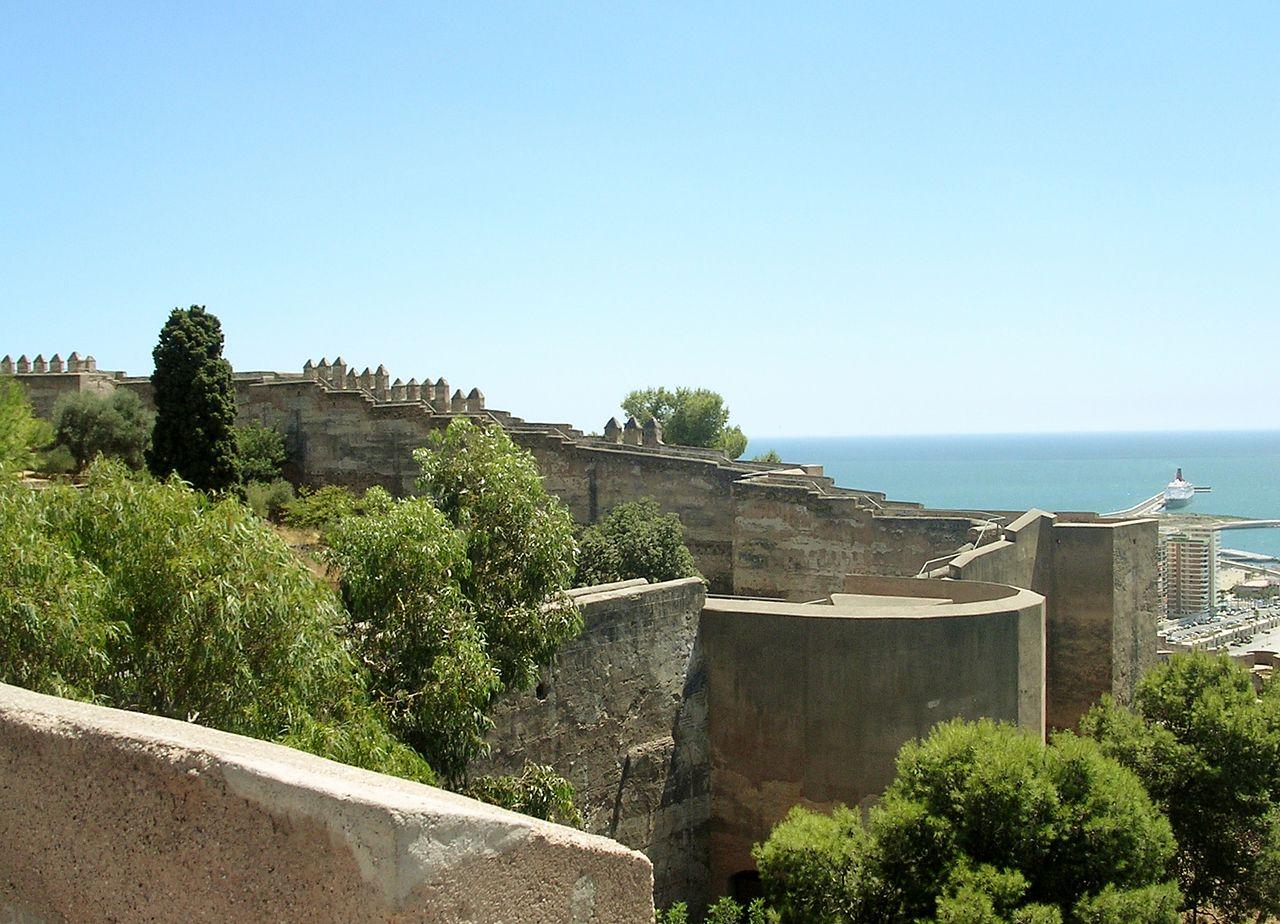château de gibralfaro de malaga