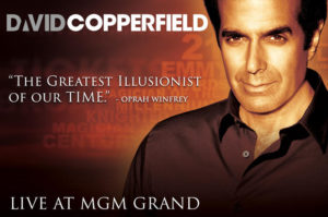 david copperfield magie las vegasMGMGRAND