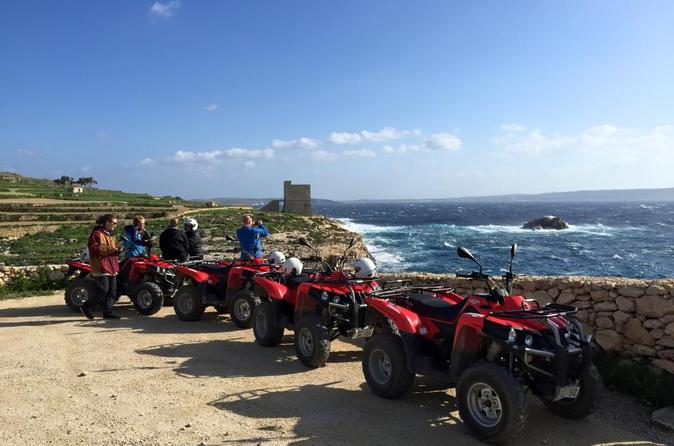excursion en quad malte