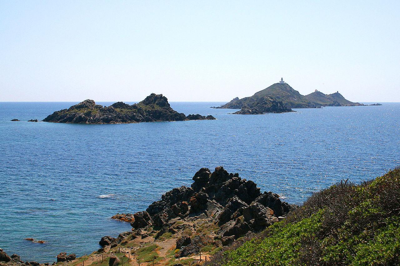 les îles sanguinaires a ajaccio