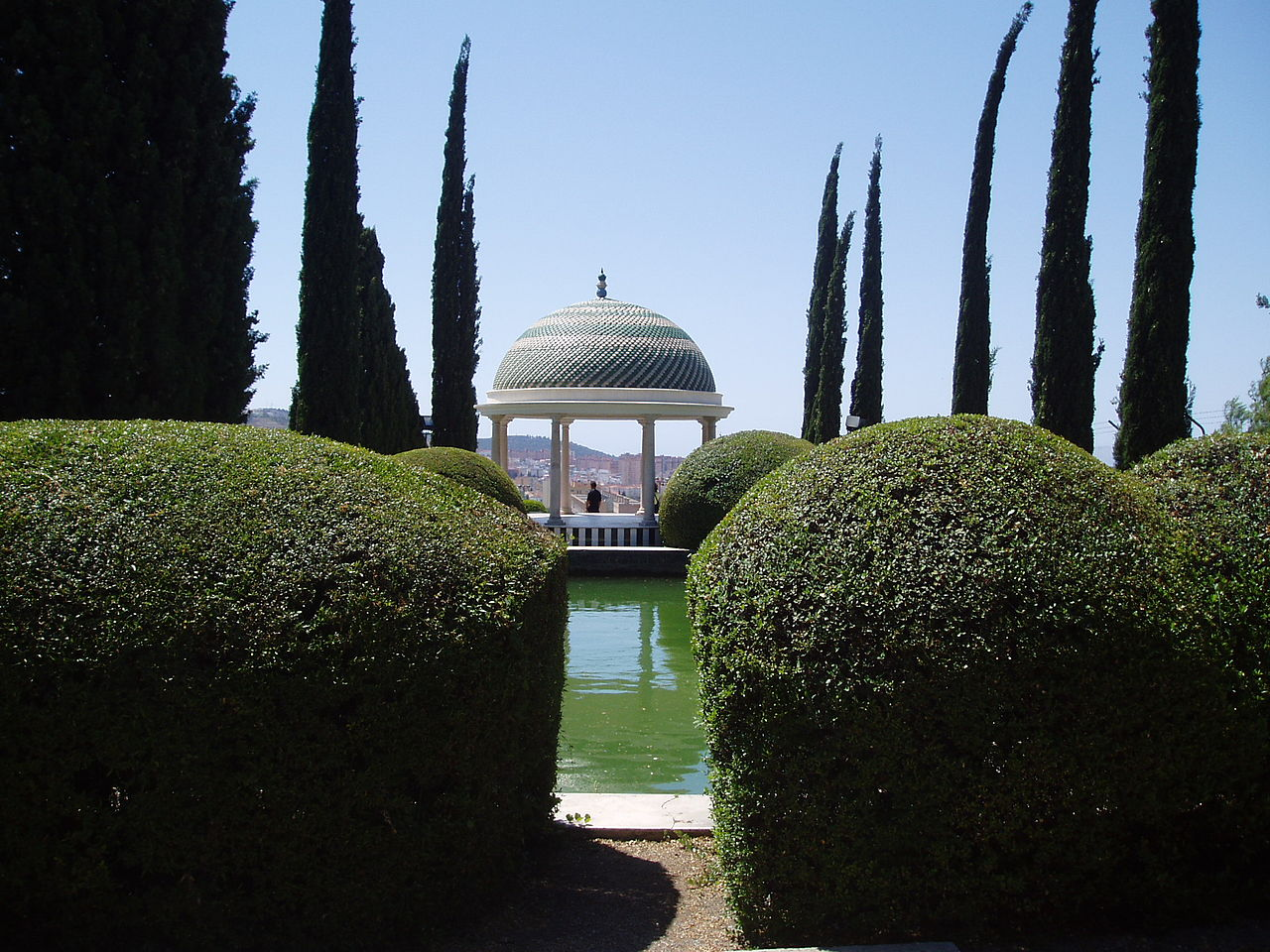 jardin botanuqe de la concepcion malaga