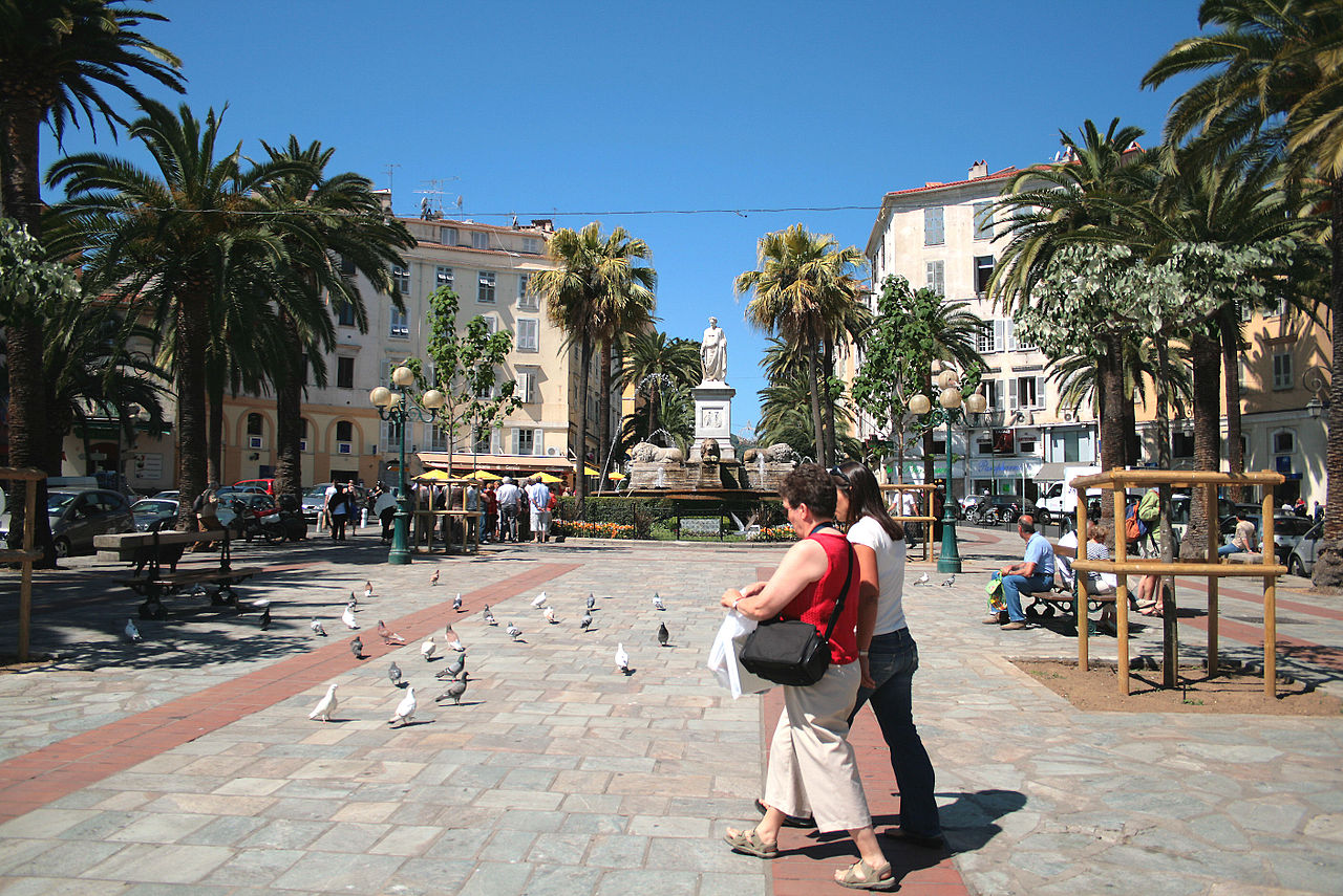 place Foch Ajaccio