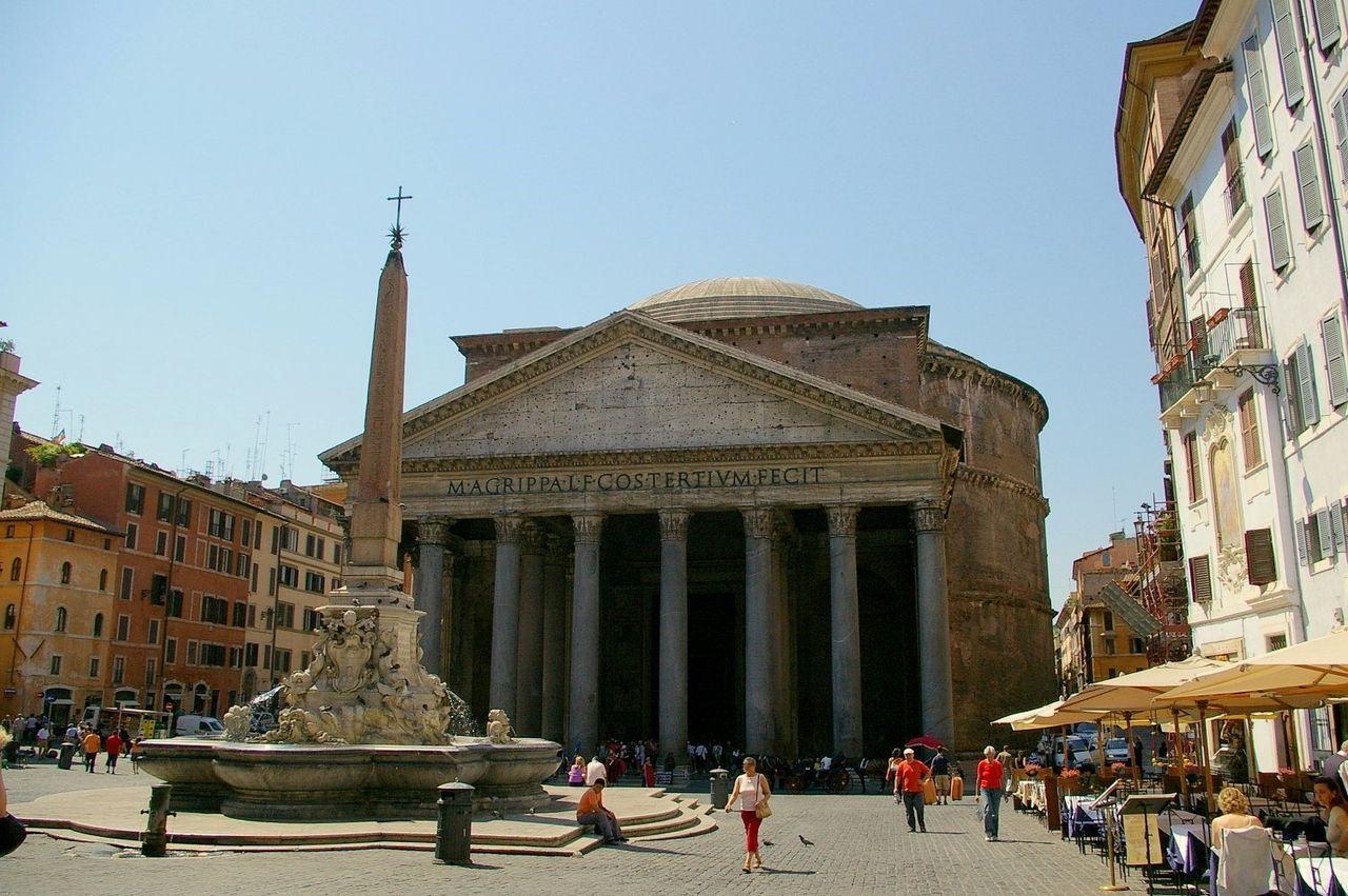 place du panthéon rome