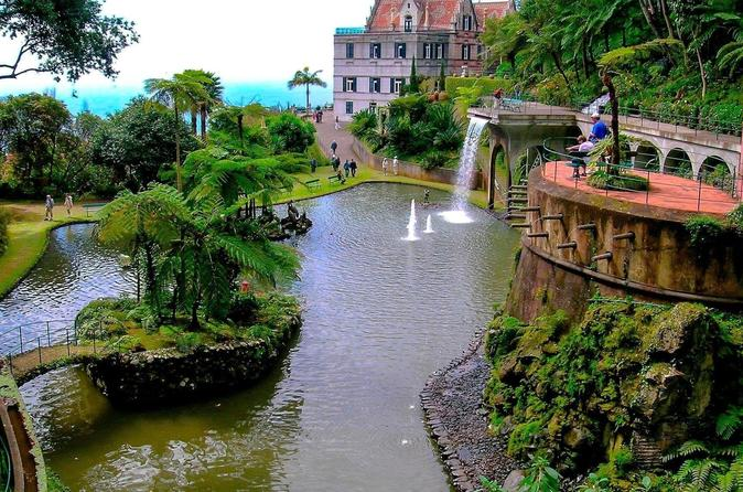 billet jardin tropical funchal