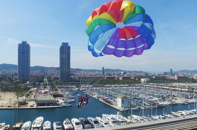 parachute barcelone