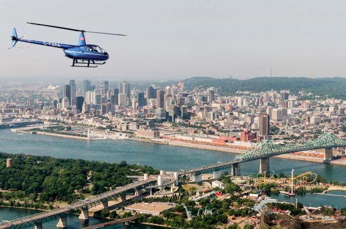helicoptere montreal