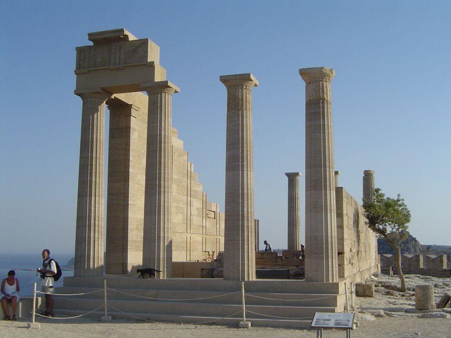 temple d'athena lindos