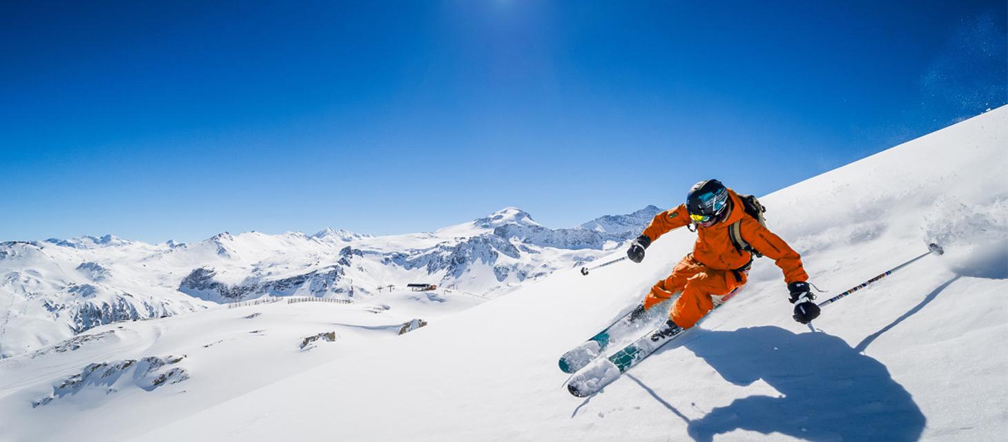 Les stations de ski skier