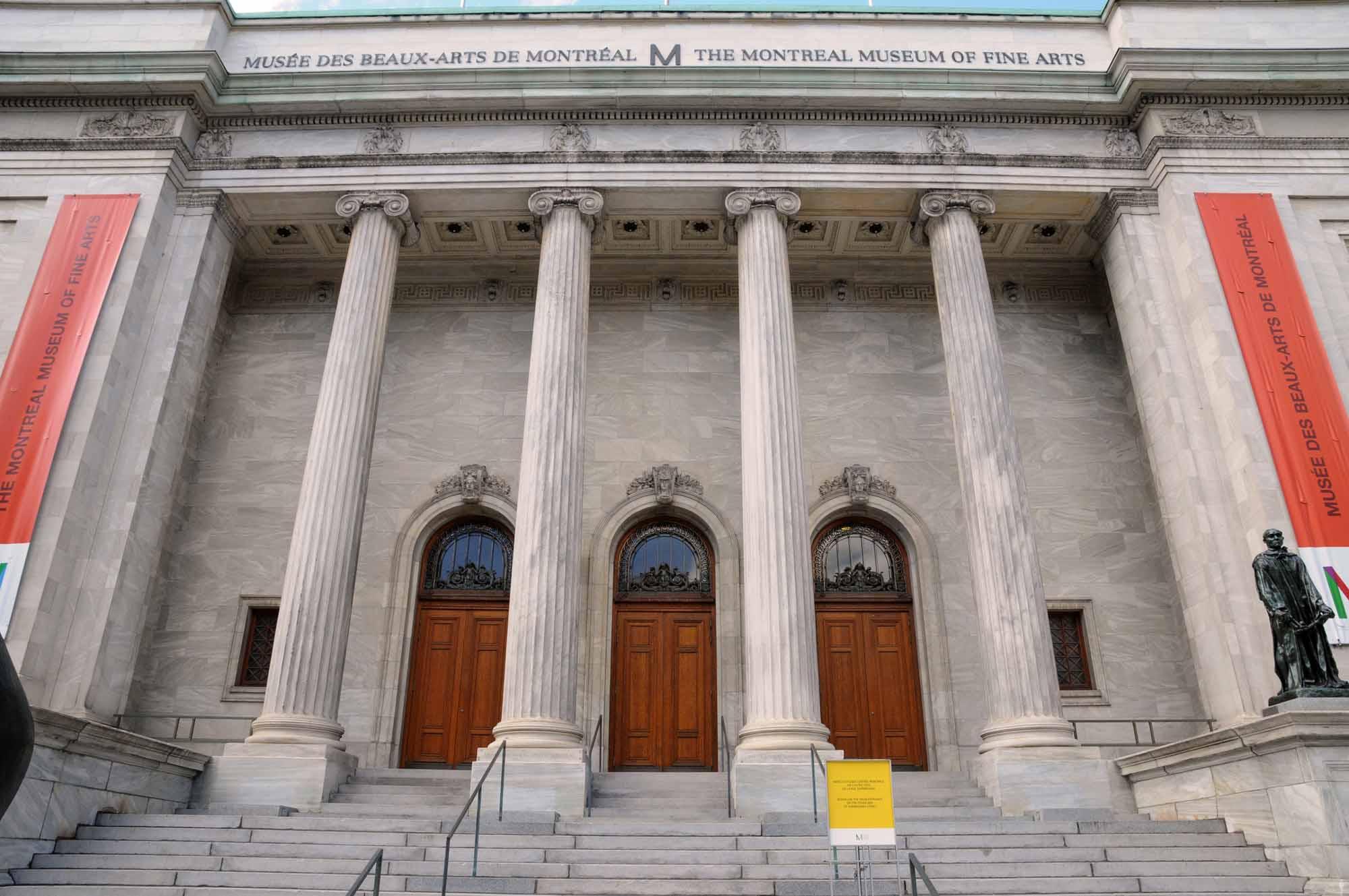 musée des neaux arts a Montréal
