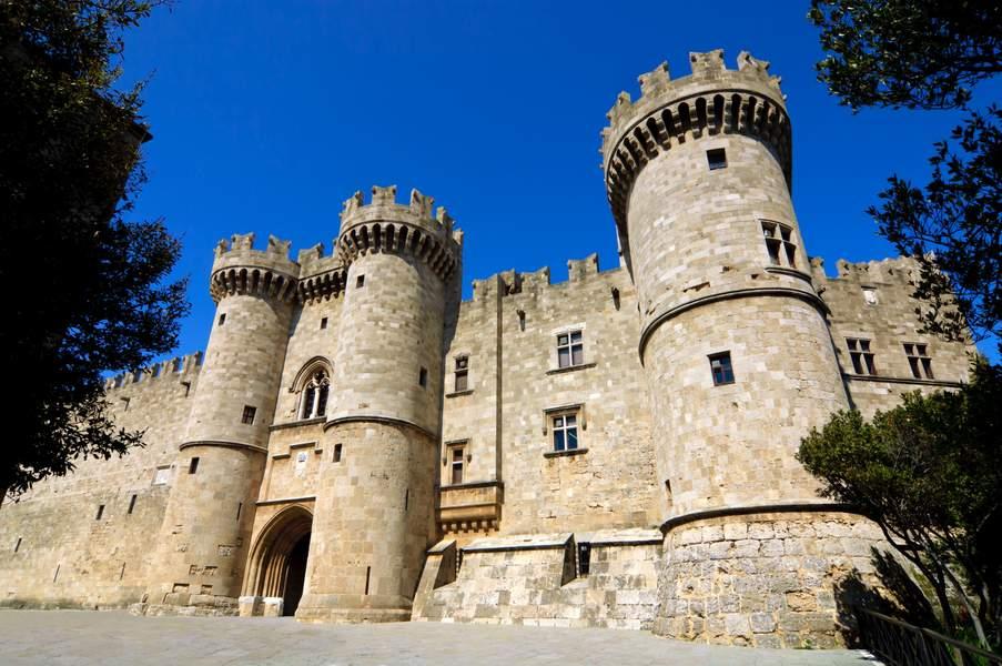 Le palais des grands maitres Rhodes