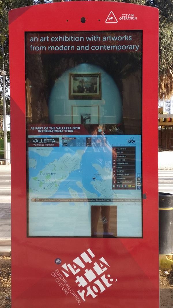 Borne info de Malte