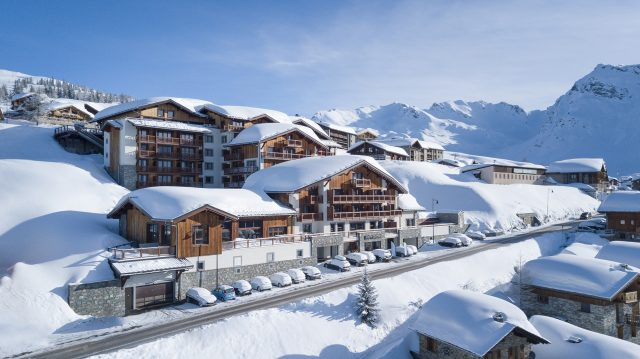 La Rosière ski