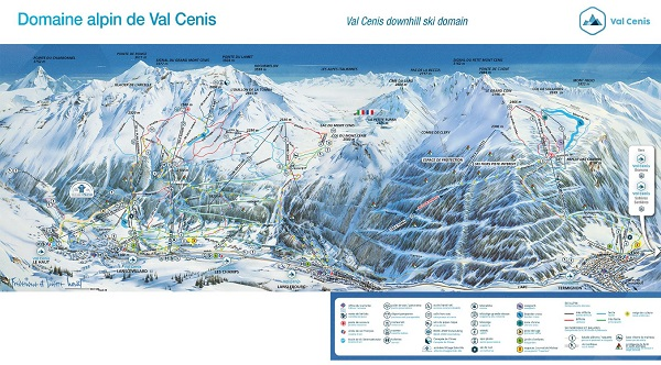 val d'isere plan
